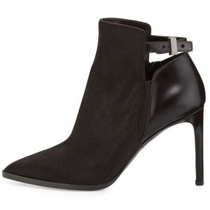 Vince Calla Pointed Pony Hair Bootie